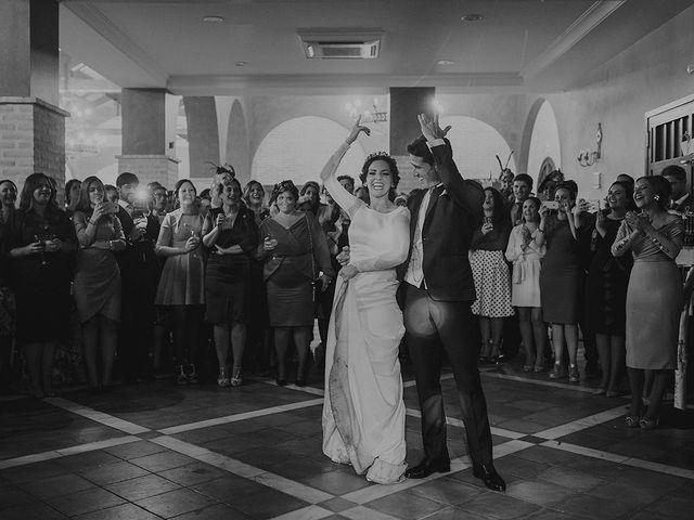 La boda de Alejandro y Alba en La Puebla Del Rio, Sevilla 89