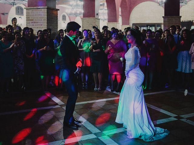 La boda de Alejandro y Alba en La Puebla Del Rio, Sevilla 90