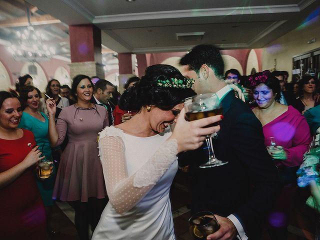 La boda de Alejandro y Alba en La Puebla Del Rio, Sevilla 95