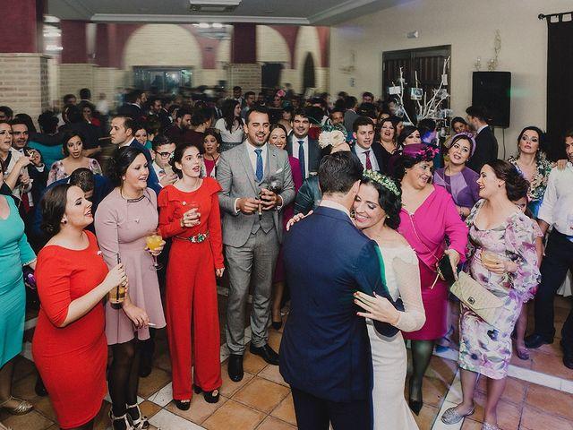 La boda de Alejandro y Alba en La Puebla Del Rio, Sevilla 97