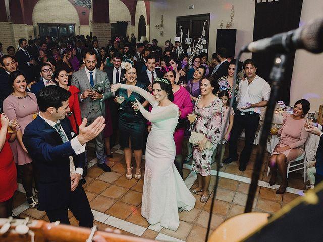 La boda de Alejandro y Alba en La Puebla Del Rio, Sevilla 98