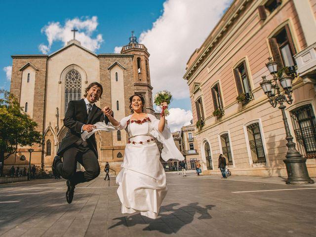 La boda de Sandra y Xus