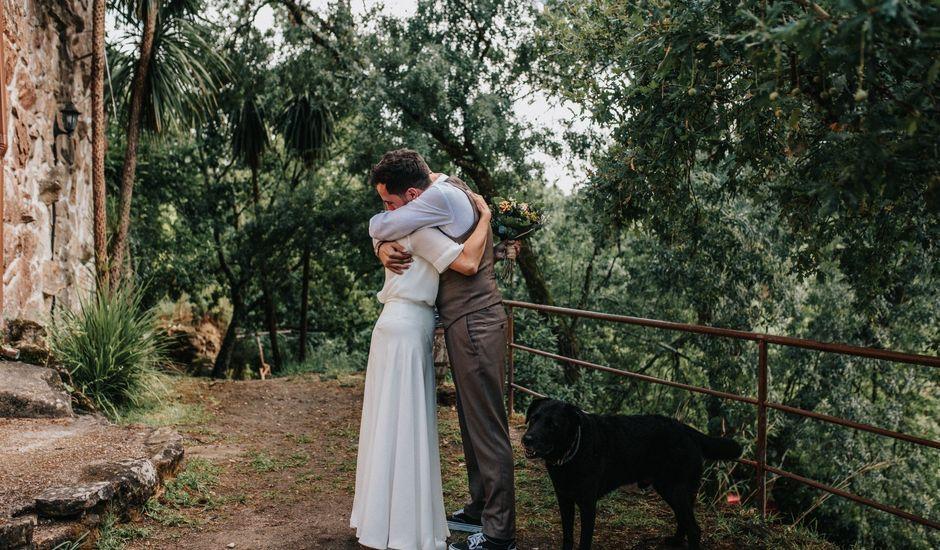 La boda de Cibrán y Laura en Arbo, Pontevedra
