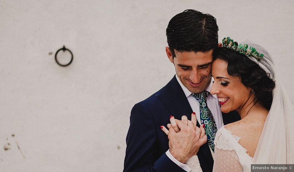 La boda de Alejandro y Alba en La Puebla Del Rio, Sevilla