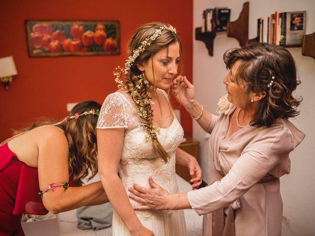 La boda de Dani y Marta en Rascafria, Madrid 1