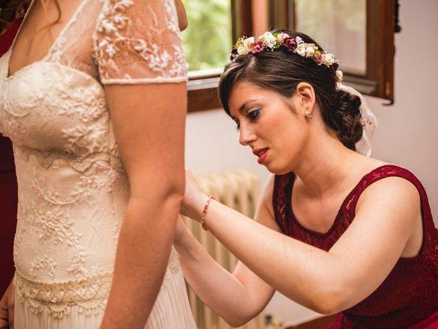 La boda de Dani y Marta en Rascafria, Madrid 2