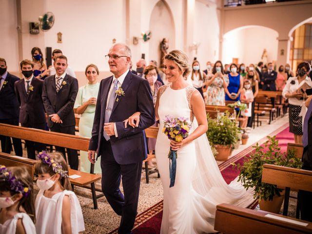 La boda de Francesc y Clara en Xerta, Tarragona 98
