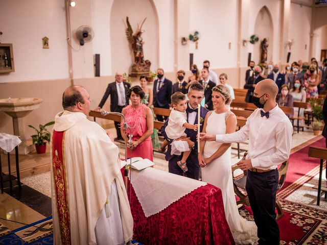 La boda de Francesc y Clara en Xerta, Tarragona 137