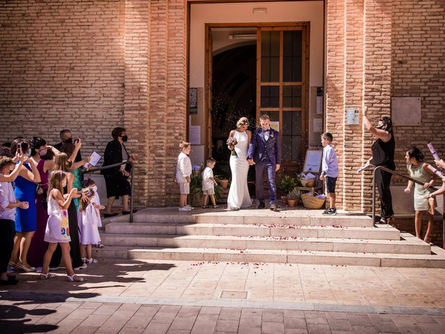 La boda de Francesc y Clara en Xerta, Tarragona 152