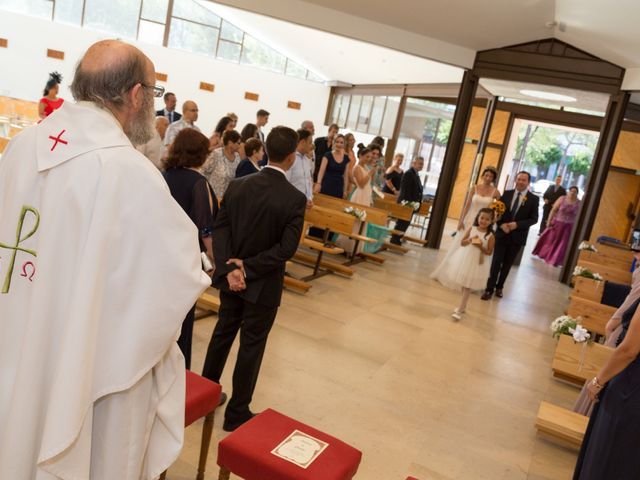 La boda de Carlos y Brillit en Los Santos De La Humosa, Madrid 8