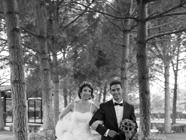 La boda de Carlos y Brillit en Los Santos De La Humosa, Madrid 13