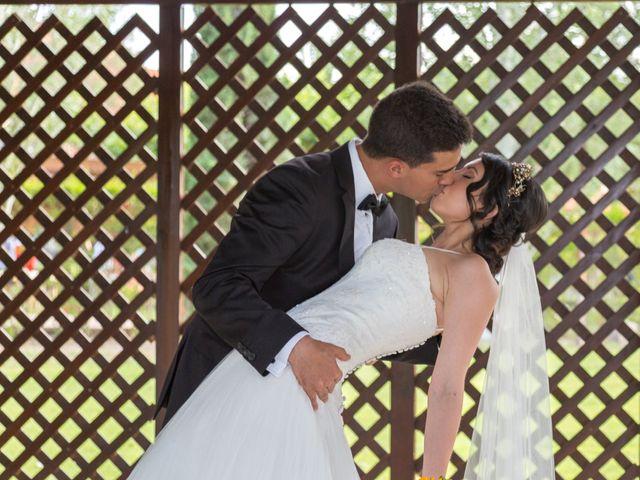 La boda de Carlos y Brillit en Los Santos De La Humosa, Madrid 17
