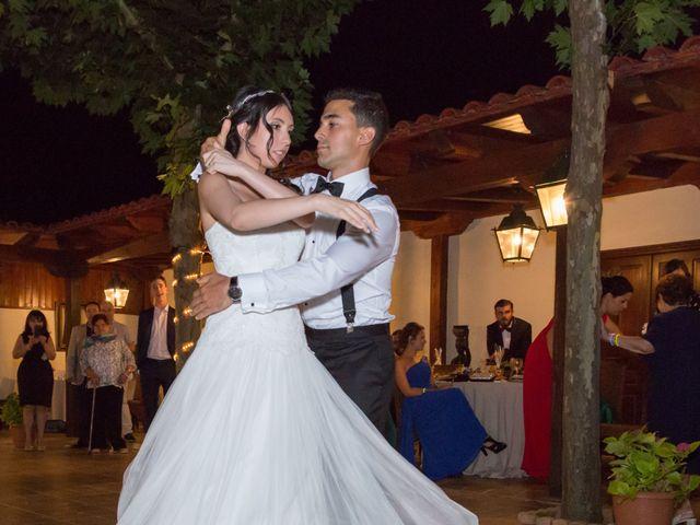 La boda de Carlos y Brillit en Los Santos De La Humosa, Madrid 33