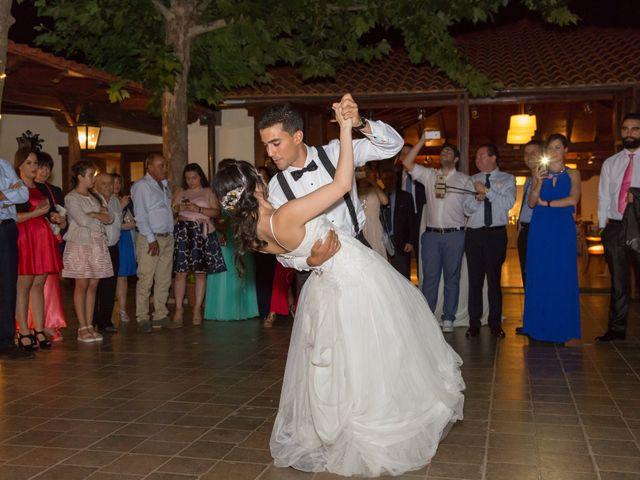 La boda de Carlos y Brillit en Los Santos De La Humosa, Madrid 36