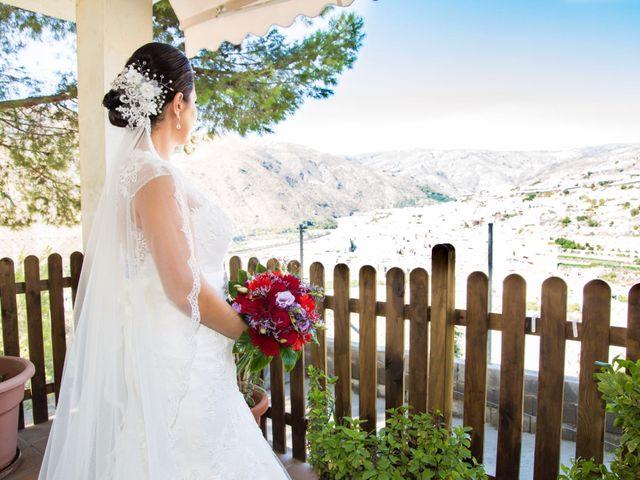 La boda de Chema y Inma en La Curva, Almería 7