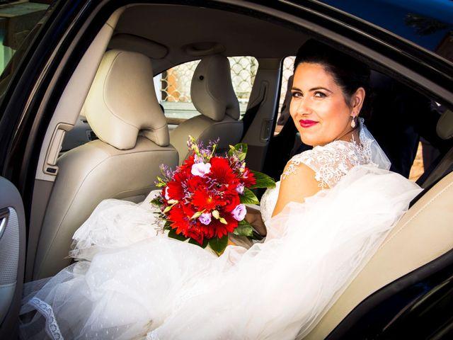 La boda de Chema y Inma en La Curva, Almería 9