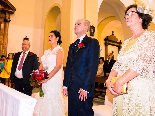 La boda de Chema y Inma en La Curva, Almería 10