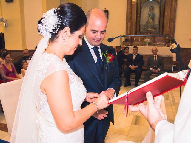 La boda de Chema y Inma en La Curva, Almería 11