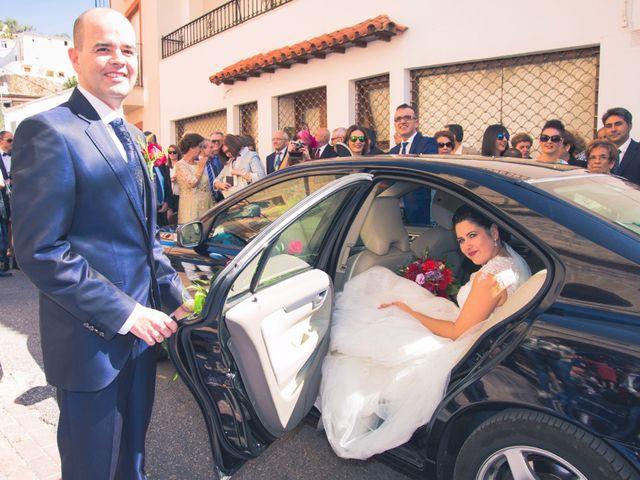 La boda de Chema y Inma en La Curva, Almería 13