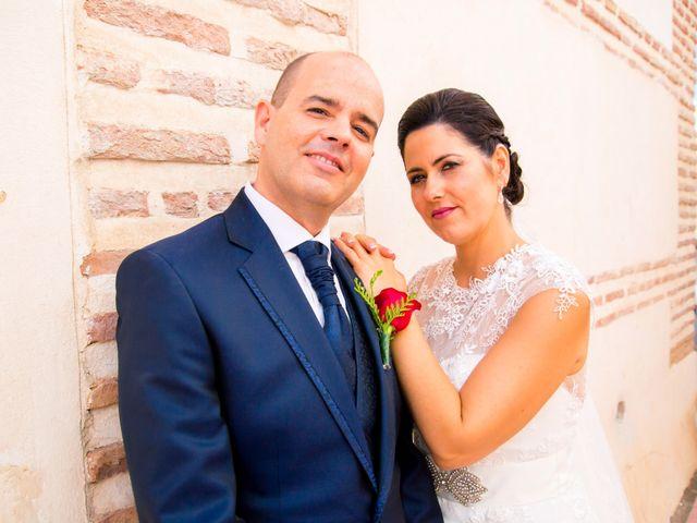 La boda de Chema y Inma en La Curva, Almería 1