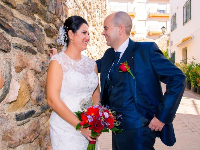 La boda de Chema y Inma en La Curva, Almería 15