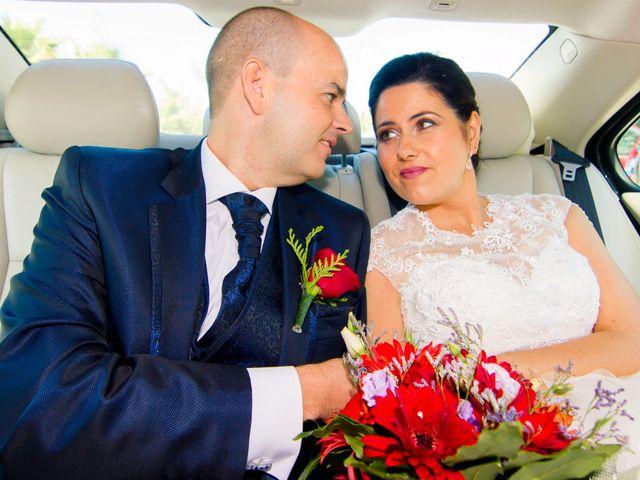 La boda de Chema y Inma en La Curva, Almería 16