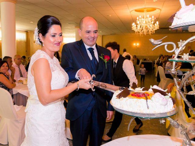 La boda de Chema y Inma en La Curva, Almería 19