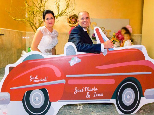 La boda de Chema y Inma en La Curva, Almería 21
