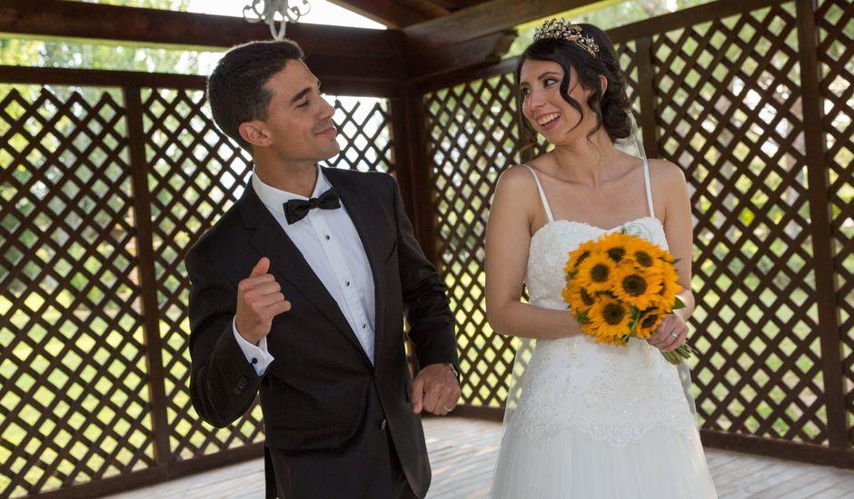 La boda de Carlos y Brillit en Los Santos De La Humosa, Madrid