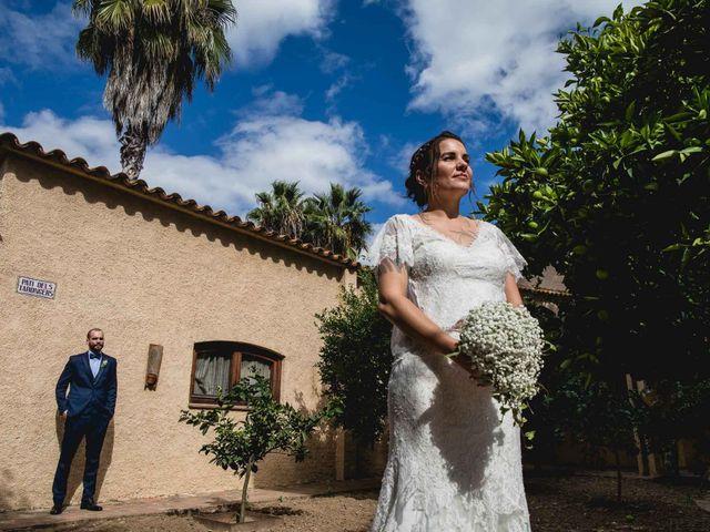 La boda de Georgina y David