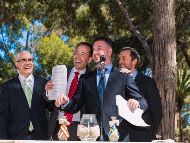 La boda de David y Iryna en Alacant/alicante, Alicante 22