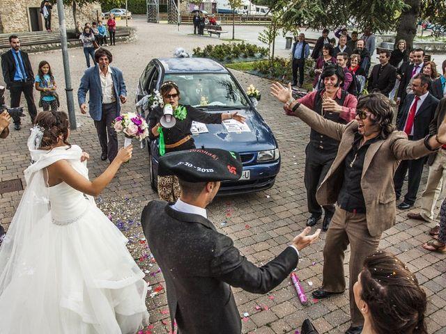 La boda de Joseba  y Jariza  en Murguia, Álava 13