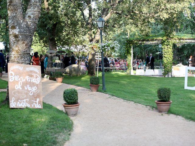 La boda de Guille y Diana en El Escorial, Madrid 10