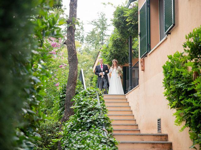 La boda de Guille y Diana en El Escorial, Madrid 11
