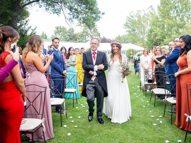 La boda de Guille y Diana en El Escorial, Madrid 16