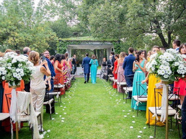 La boda de Guille y Diana en El Escorial, Madrid 20