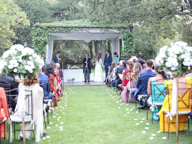 La boda de Guille y Diana en El Escorial, Madrid 23
