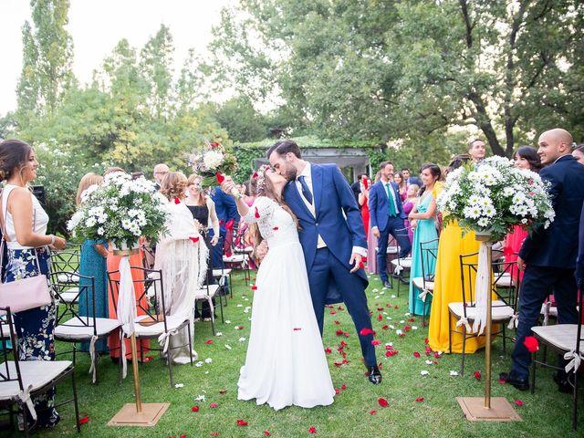 La boda de Guille y Diana en El Escorial, Madrid 1