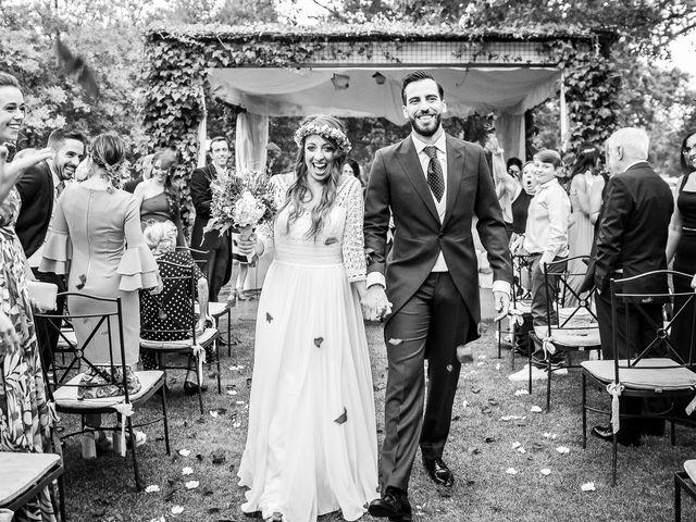 La boda de Guille y Diana en El Escorial, Madrid 37