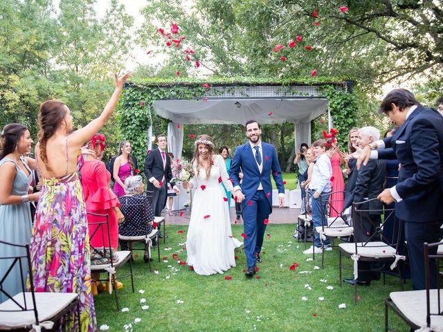 La boda de Guille y Diana en El Escorial, Madrid 38