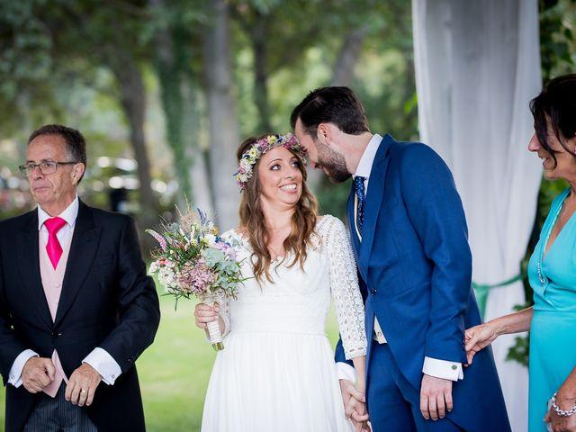 La boda de Guille y Diana en El Escorial, Madrid 41