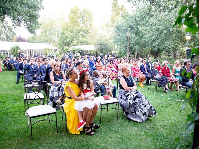 La boda de Guille y Diana en El Escorial, Madrid 43