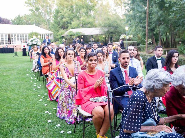 La boda de Guille y Diana en El Escorial, Madrid 45