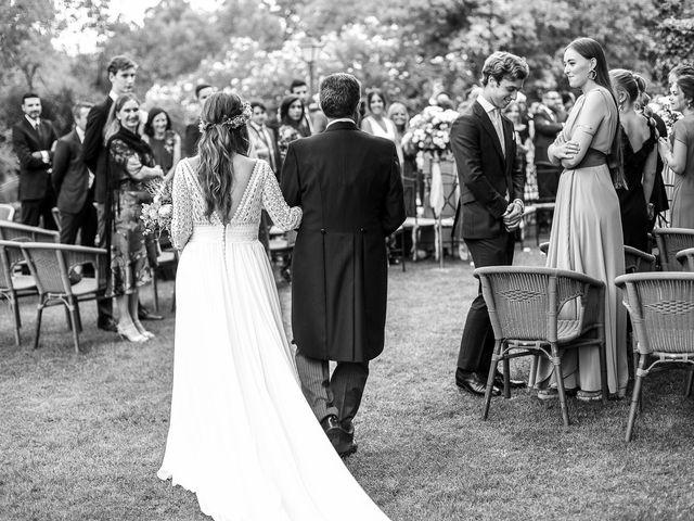 La boda de Guille y Diana en El Escorial, Madrid 74