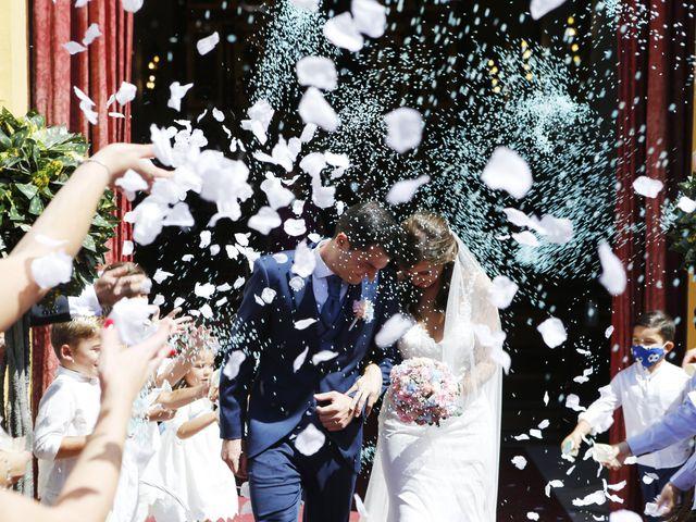 La boda de Estefania y Luis Javier en Almensilla, Sevilla 12