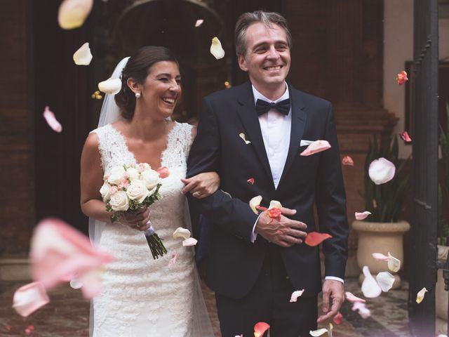 La boda de Silvia y Mikael