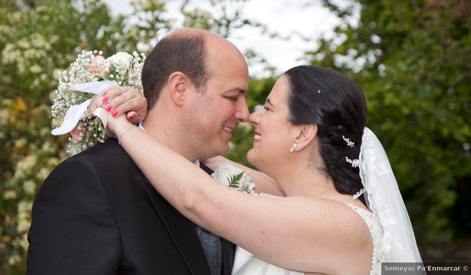 La boda de Iván y Desiré en Noreña, Asturias