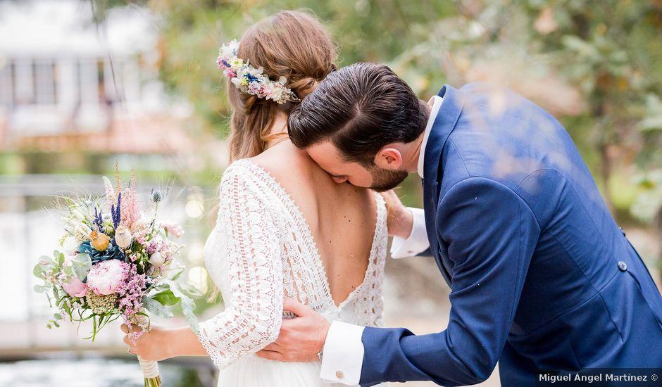 La boda de Guille y Diana en El Escorial, Madrid