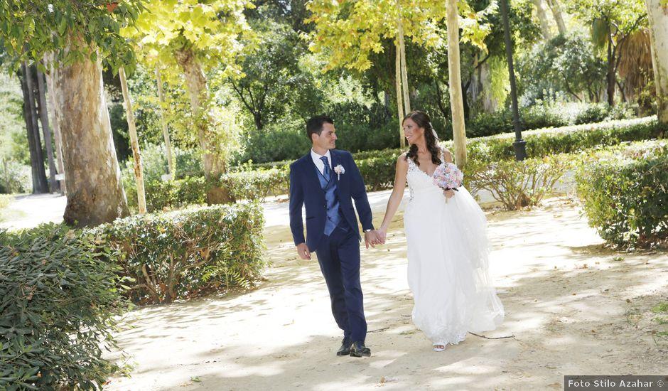 La boda de Estefania y Luis Javier en Almensilla, Sevilla