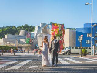 La boda de Iratxe y Edu